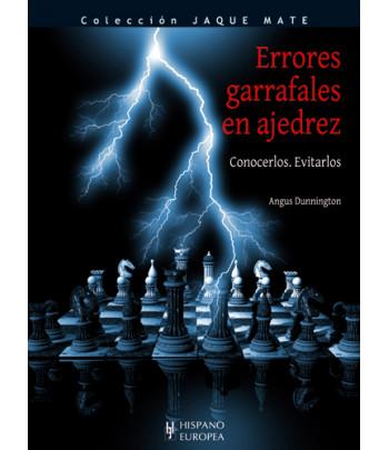 Errores garrafales en ajedrez