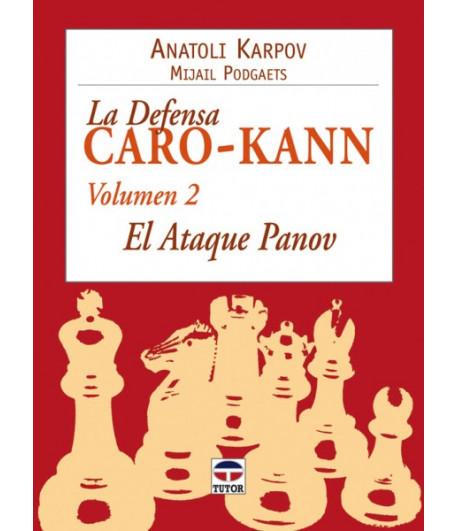 La defensa CaroKann Volumen II Ataque Panov