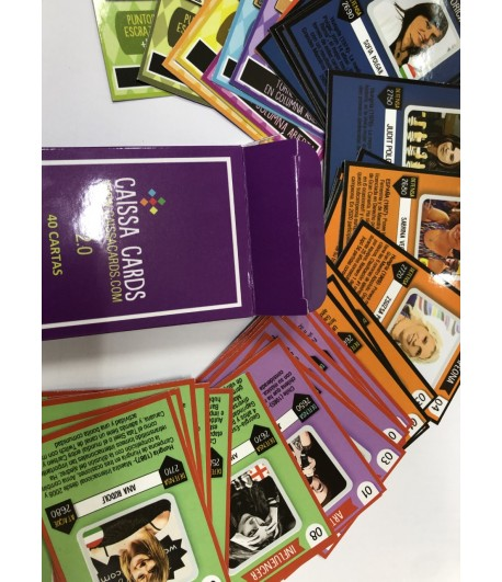 Cartas Caissa Cards 2.0