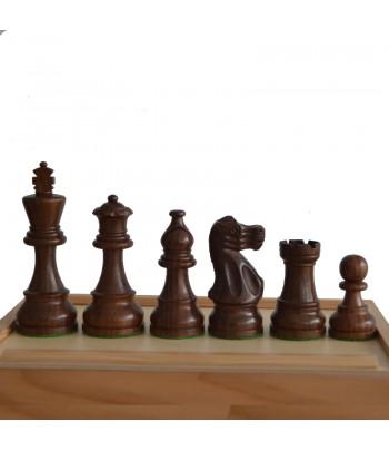 Juego de piezas de madera N.A. negras